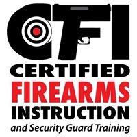 Certified Firearms Instruction