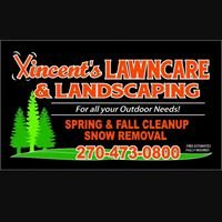 Vincents lawn care &  landscaping for all your out door needs