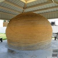 World's Largest Ball of Sisal Twine