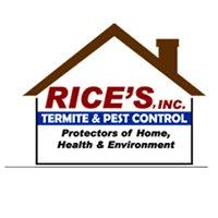 Rice's, Inc. Termite & Pest Control