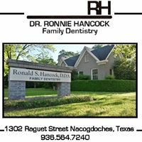 Dr. Ronnie Hancock Family Dentistry