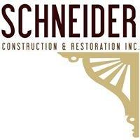 Schneider Construction & Restoration, Inc.