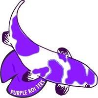 Purple Koi Tees