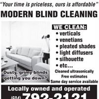 Modern Blind Cleaning