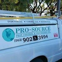 Pro -Source Pest Control & Prevention Inc