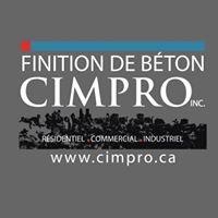 Finition de Béton Cimpro INC