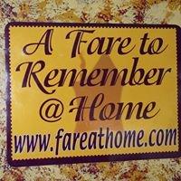 A Fare To Remember @ Home