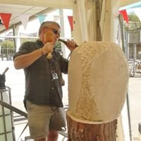 David King Stone Carving