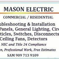 Mason's electric
