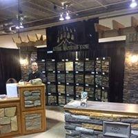 Kodiak Mountain Stone Booth at Calgary Home & Garden Show