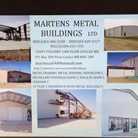 Martens METAL Buildings LTD