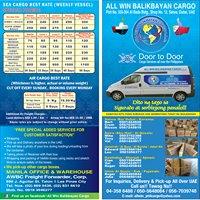 All Win Balikbayan Carco Llc