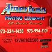 American Paving Co of Morris County