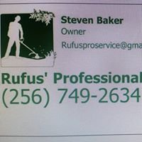 Rufus' Professional Services and Landscape