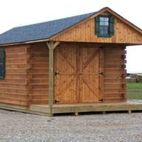 We build and deliver log cabins