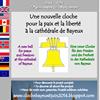 Cloche de la Paix et de la Liberté pour la cathédrale de Bayeux
