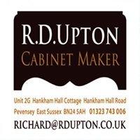 R D Upton  Cabinet Maker