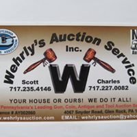 Wehrlys Auction Service Inc.