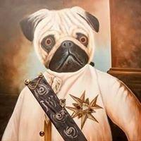 Art Pub Cool Dog