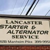 Lancaster Starter & Alternator