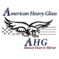 American Heavy Glass Shower Door and Mirror