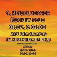 Heidelberger Rock im Feld