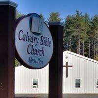 Calvary Bible Church in South Hiram, ME