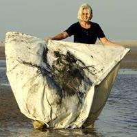 Monika Nelting  BLUE IDEA Malerei aus dem Meer