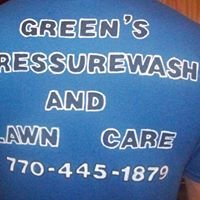 Green's Pressure Wash , Lawn Care, and Improvements