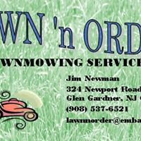 Lawn 'n Order Lawn Mowing Svcs