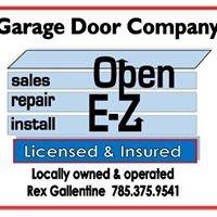 OPEN E-Z Garage DOOR