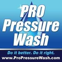 PRO Pressure Wash