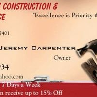 Carpenter's Construction & Maintenance