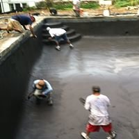 Albert's pool plastering