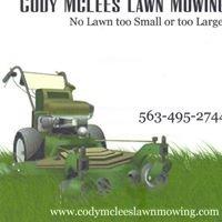 Cody McLees Lawn Mowing