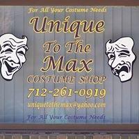 Unique to the Max Costume Shop