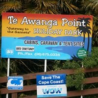 Te Awanga Point holiday park Cape Kidnappers