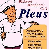 Bäckerei, Konditorei, Café Pleus