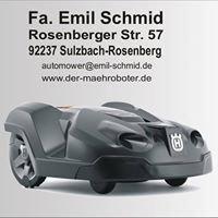 Husqvarna Automower Mähroboter Fa. Emil Schmid