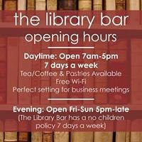 The Library Bar Ashbourne