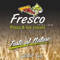 Fresco pizza & ice cream