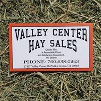 Valley Center Hay Sales