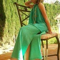 Lucia en turquesa
