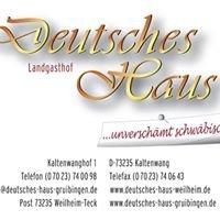 Landgasthof Deutsches Haus KG