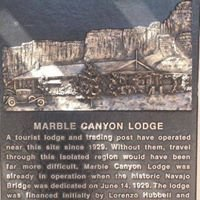 Marble Canyon Lodge and trading post