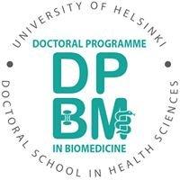 Doctoral Programme in Biomedicine - DPBM