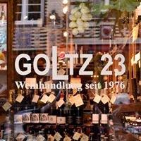 GOLTZ23, Weinhandlung seit 1976