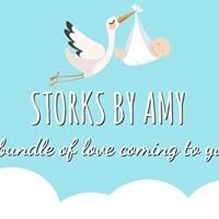 Storks by Amy