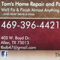 Tom's Home Repair and Painting