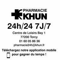 Pharmacie KHUN 24h/24 Bay 1 - Torcy